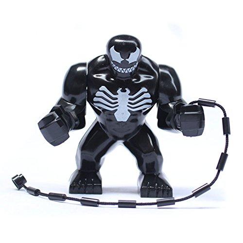 Costruzioni Compatibili - Blocks - Minifigure - Venom Giant Big Seize - Uomo Ragno Marvel Super Heroes Giocattolo