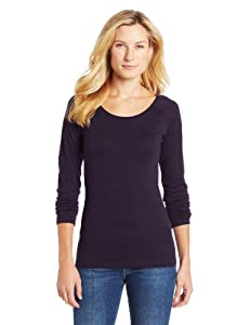 Icebreaker Ladies Crush Long Sleeve Stripe Scoop Shirt by Icebreaker
