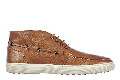 Tod's polacchine stivaletti scarpe uomo pelle sport cassetta marrone EU 41 XXM0JL0D750NATC811