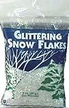Buffalo Batt   Felt Cb0512 Glittering Snow Flakes 2 Oz.
