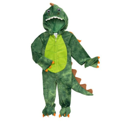 Koala Kids Infant Boys Plush Green Dragon Costume Dinosaur Jumper
