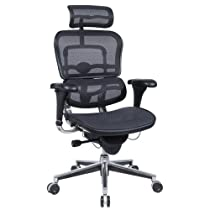 Big Sale Best Cheap Deals Ergohuman ME7ERG-W09-01W09-01 Black Mesh Hi Swivel chair