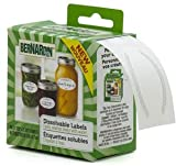Bernardin Canning Labels - Dissolvable - 60
