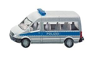 Siku 0804 - Polizeibus (farblich sortiert)