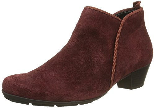 Gabor Shoes Basic, Stivaletti Donna, Rosso (Wine 15), 39 EU