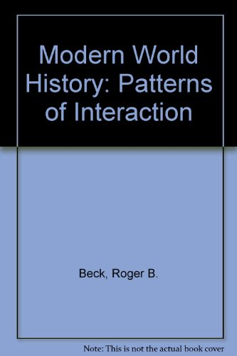 Modern World History: Patterns of Interaction CD ROM edition of Student Text