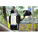 Rheme Premium Adjustable In Car Holder for Apple Iphone 5 / 4 / 4s / 3G / 3 and Samsung, HTC, Nokia, Blackberry, Nexus