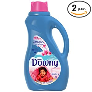 Downy April Fresh Liquid Fabric Softner, 51 Ounce Plastic Bottle (Pack of 2) $10.88