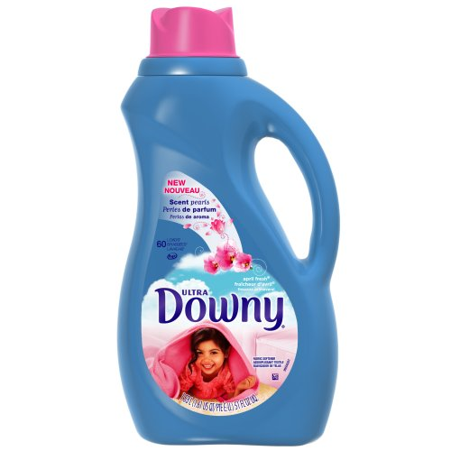 Downy April Fresh Liquid Fabric Softner, 51-Ounce Plastic Bottle (Pack of 2) [Amazon Frustration-Free Packaging]