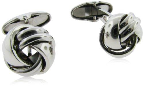Men's Stainless Steel Knot Cufflinks
