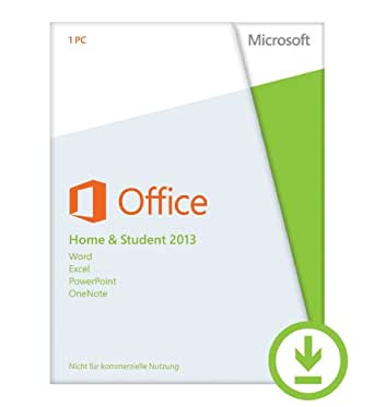 Microsoft Office Home and Student 2013 - 1PC (Product Key) [Download]