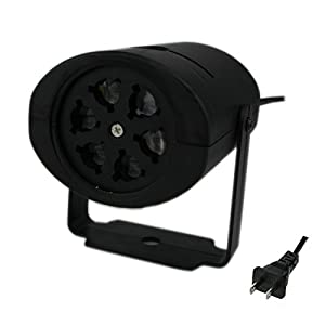 Beety Disco DJ Mini Stage Lighting LED RGB Stage Light for Party Wedding Show Club Bar with 2pcs separation blades
