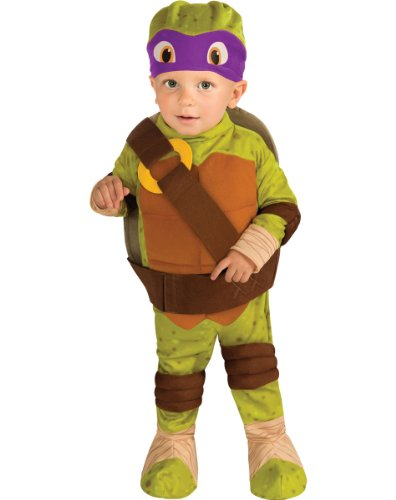 Teenage Mutant Ninja Turtle Donatello Toddler Costume 2-4t Halloween Costume