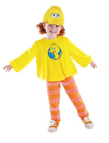 [Child's Big Bird Classic Costume sz 3T-4T] (Toddler Boy Big Bird Costume)