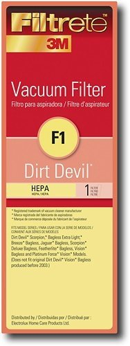 Type F1 Dirt Devil Vacuum Cleaner Hepa Replacement Filter front-556076
