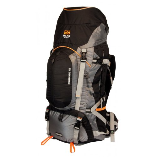 Bear Grylls 60L Backpack (Hydration Pack Compatible)
