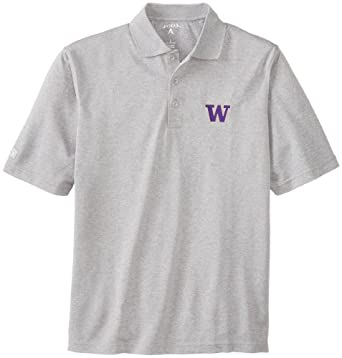 NCAA Washington Huskies Pique Xtra Lite Desert Dry Polo Mens by Antigua