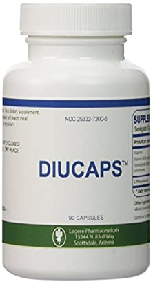 buy Diucaps - 90 Capsules - Appetite Suppresant / Inhibitor -- L-Phenylalanine, Vitamin C, (B6), Pantothenic Acid By Legere
