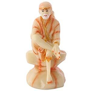 Mela Handmade Religious Saibaba Statue Idol S