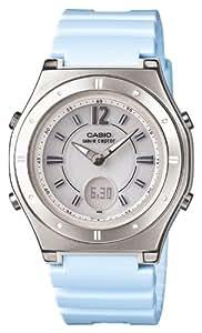 [カシオ]CASIO 腕時計 WAVECEPTOR ウェーブセプター レディース電波ソーラーウォッチ スカイブルー MULTIBAND6 マルチバンド6  LWA-M142-2AJF レディース