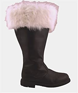 Wide Calf Professional Santa Boots (X-Large) [Apparel]