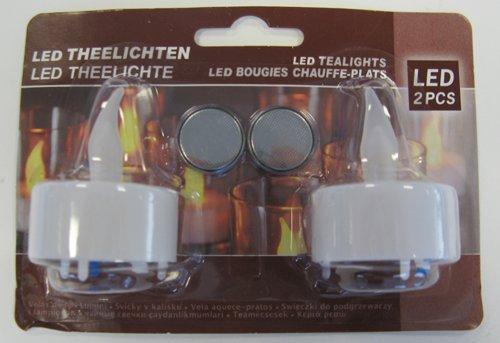 LED Teelicht Set 2 Stück