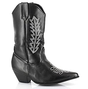 Rodeo (Black) Child Boots - Large (2/3)