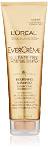 L'Oreal Evercreme Nourishing Shampoo, 8.5 Fluid Ounce