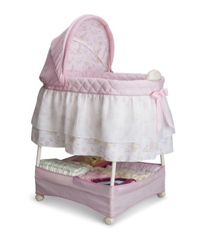 Delta Children Products Gliding Bassinet, Disney Princess