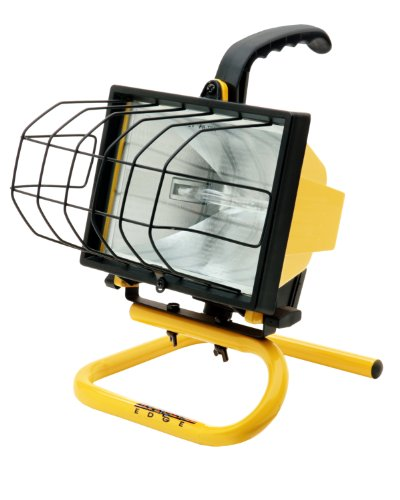 Designers Edge L20 Portable Handheld Work Light, Yellow, 500-Watt (Designers Edge compare prices)