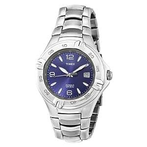 Timex Men's T28812 Elevated Classics Dress Silver-Tone Bracelet Watch
