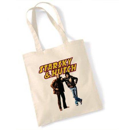 Starsky & Hutch che presentano Tote Bag marrone natur