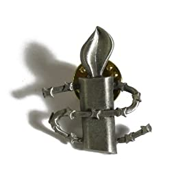 Amnesty International 50th Anniversary Lapel Pin (Silver)