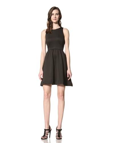 W118 by Walter Baker Women's Hayes Scuba Dress with Back Cutout  [Black]