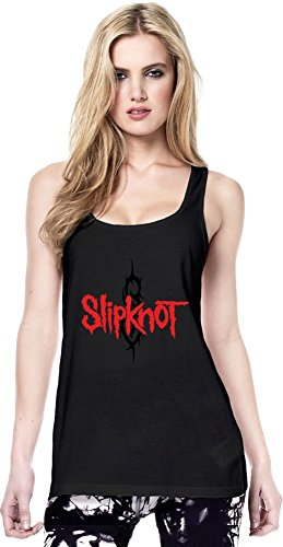 Slipknot Logo Continental Tunica maglia delle donne Women Tunic Jersey Stylish Fashion Fit Custom Apparel By Genuine Fan Merchandise Medium