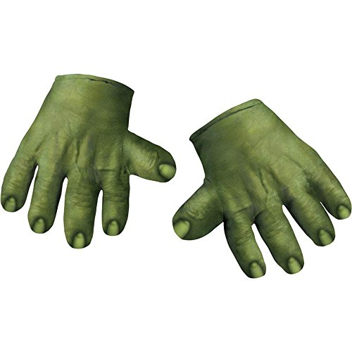 Hulk Soft Gloves Hands Costume Accessory