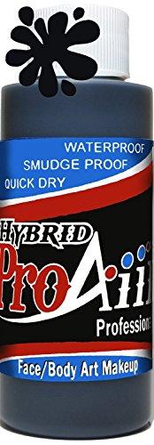 proaiir-waterproof-hybrid-face-and-body-art-paint-black-42oz-120ml-bottle