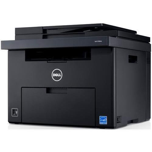 Dell C1765Nfw Led Multifunction Printer - Color - Plain Paper Print - Desktop - Copier/Fax/Printer/Scanner - 15 Ppm Mono/12 Ppm Color Print - 600 X 600 Dpi Print - 15 Cpm Mono/12 Cpm Color Copy Lcd - 1200 Dpi Optical Scan - Manual Duplex Print - 160 Sheet