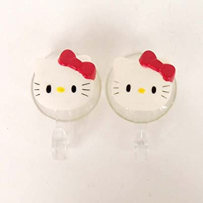Hello Kitty Hanger Hook Suction Cup Rack 2pcs