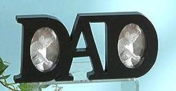 StealStreet SS-UG-NAB-329 Word Tabletop black Picture Frame, Dad, 8\