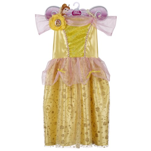 Disney Princess Sparkle Dress - Belle 4-6X