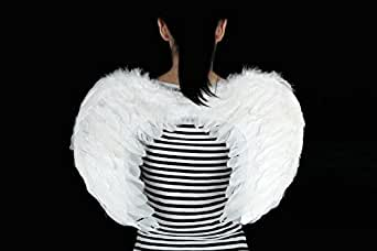 Costume Kids Feather Angel Wings For Child 5-8 Years Old Dress Up Photo Props
