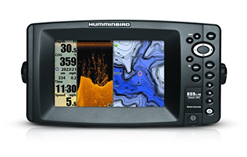 Humminbird 409140-1 859ci HD DI Combo Color Fish Finder with Down-Imaging and Internal GPS (Grey)