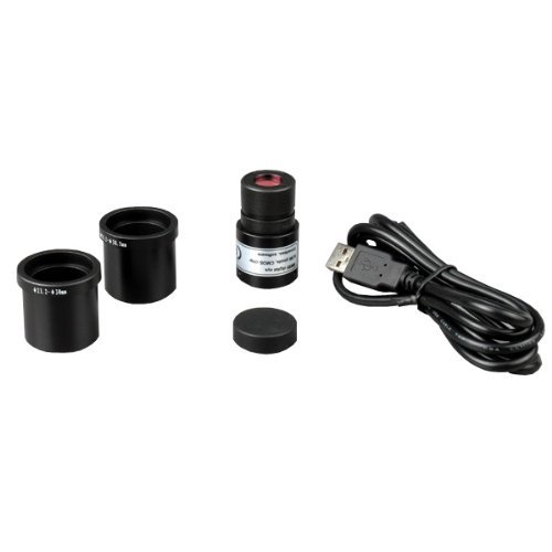 Amscope M148C-E Usb2.0 Digital Imager + 40X-1000X Glass Optics Student Compound Microscope Toy, Kids, Play, Children