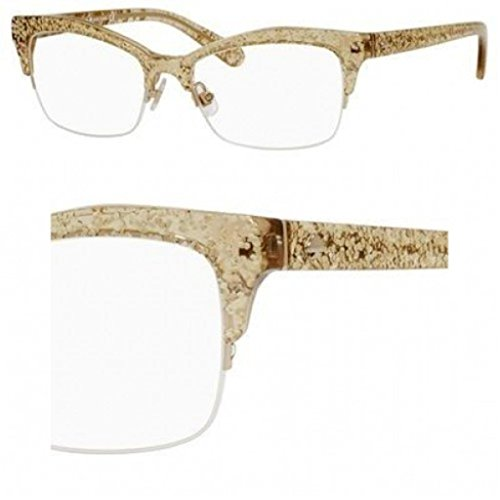 Gold Glitter Glasses Frames : Galleon - Kate Spade Lyssa Eyeglasses-0W51 Gold Glitter -49mm