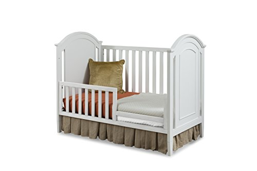 Imagio Baby Harper Toddler Guard Rail, White - 1