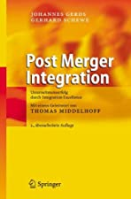 Post Merger Integration Unternehmenserfolg durch Integration Excellence by Gerds