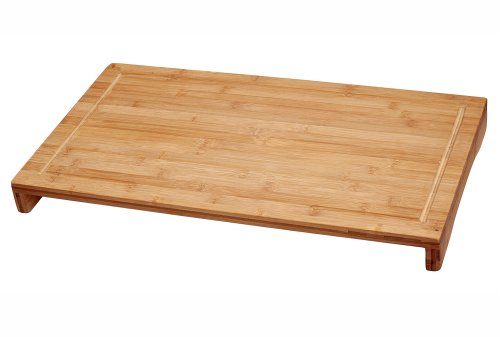 Lipper International 8831 Bamboo Large Over the Sink/Stove Cutting Board (Glass Cover For Gas Stove compare prices)