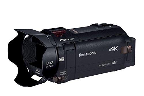 Panasonic デジタル4Kビデオカメラ WX990M 64GB ワイプ撮り あとから補正 ブラック HC-WX990M-K