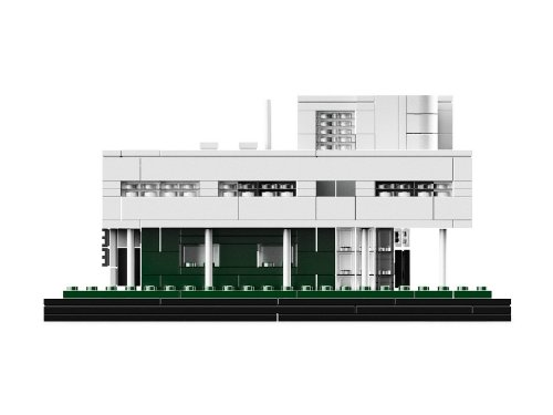 LEGO乐高 建筑系列 Villa Savoye 21014 萨伏伊别墅图片